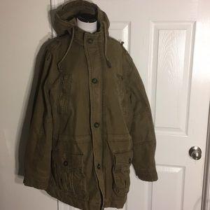 Old Navy Men's Twill Snorkel-Hood Coat